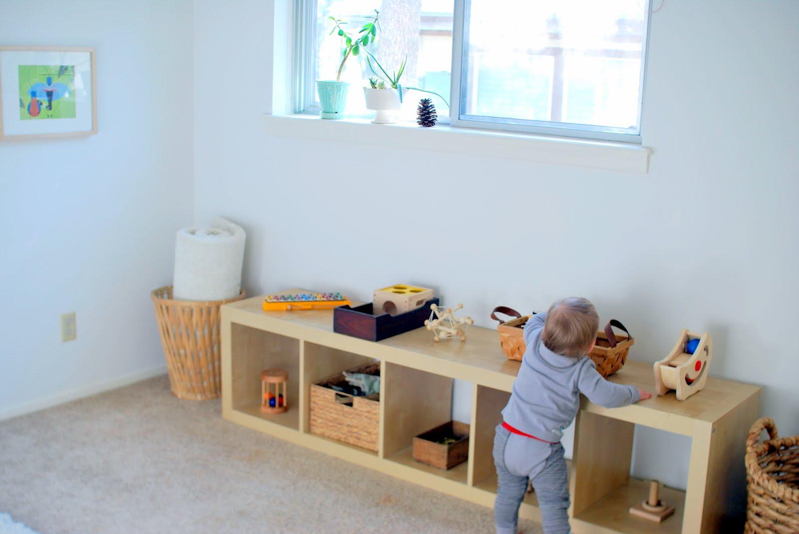 Amenajare Camera Montessori : Cum arata o camera de joaca montessori