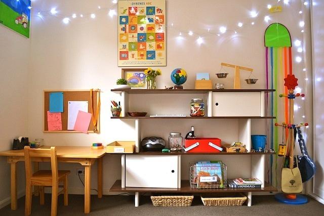 Camere Montessoriane : Cum arata o camera de joaca montessori