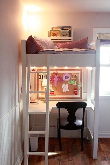 Biroul de sub pat